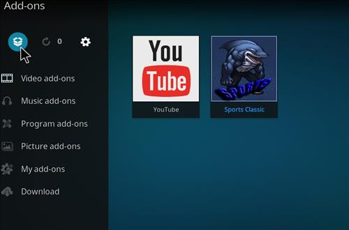 How to Install Sports Classic Kodi Add-on with Screenshots step 9