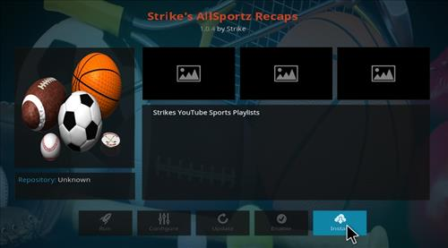 How to Install Strikes AllSportz Recaps Kodi Add-on with Screenshots step 18