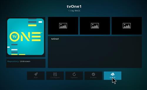 How to Install tvOne1 Kodi Add-on with Screenshots step 19