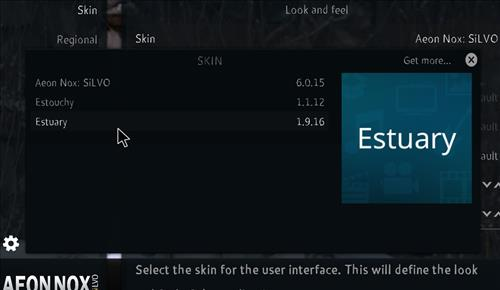 How to change the Skin back to Default Estuary Ice tigris step 4