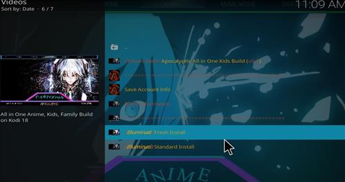 How to Install Apocalyptic All in One Kids Kodi 18 Build Leia step 24
