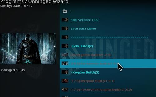 How to Install Batman Kodi 18 Leia Build step 16