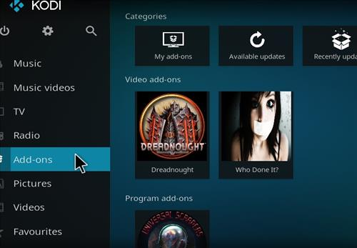 How to Install Dreadnought Kodi Add-on with Screenshots step 8