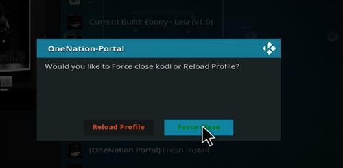 How to Install Ebony Kodi Build 18 Leia step 26