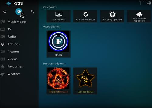 How to Install FDJ.HD Kodi Add-on with Screenshots step 1