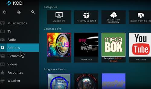 How to Install Focus Kodi Add-on 18 Leia step 8
