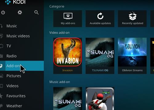 How to Install Invasion Kodi Add-on with Screenshots step 8