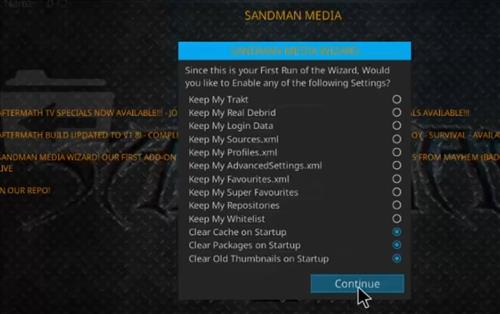 How to Install KnightFall Kodi Build with Screenshots step 21