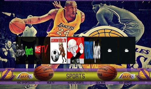 How to Install Lakers Theme Kodi Build with Screenshots pic 1