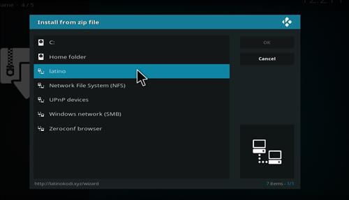 How to Install Latino Ultimate Kodi Build with Screenshots step 11