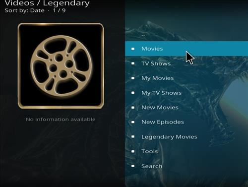 How to Install Legendary Kodi Add-on with Screenshots pic 2