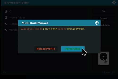 How to Install Leia Silvo Kodi Build step 24