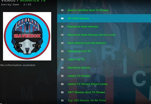 How to Install Maverick TV Kodi Add-on with Screenshots pic 2