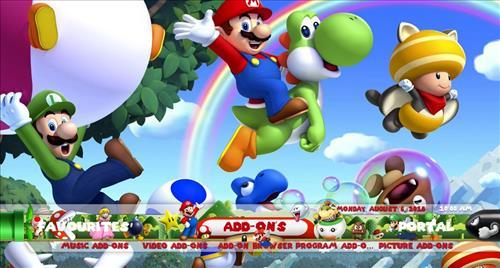 How to Install Max'd Mario Kids Kodi Build 18 Leia step 27