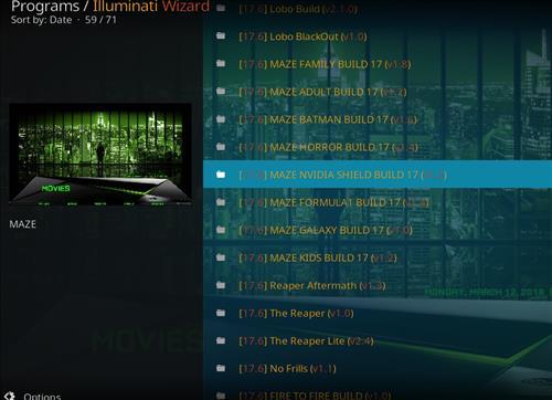How to Install Maze Nvidia Shield Kodi Build with Screenshots step 22