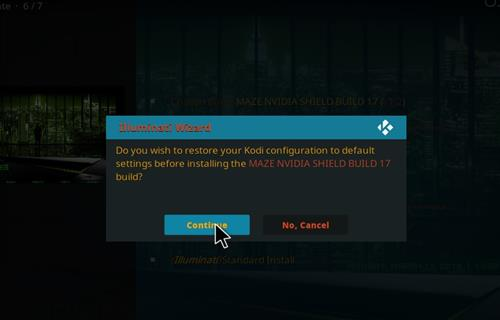 How to Install Maze Nvidia Shield Kodi Build with Screenshots step 24