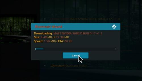 How to Install Maze Nvidia Shield Kodi Build with Screenshots step 25