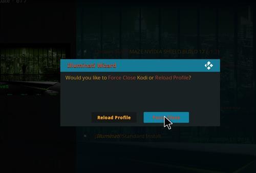 How to Install Maze Nvidia Shield Kodi Build with Screenshots step 26