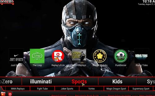 How to Install Razer 18 Family Kodi Build Leia pic 3