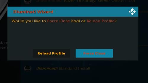 How to Install Razer 18 Family Kodi Build Leia step 27
