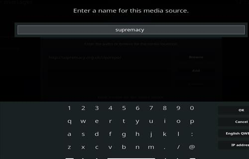How to Install Supremacy Kodi Add-on 18 Leia step 6