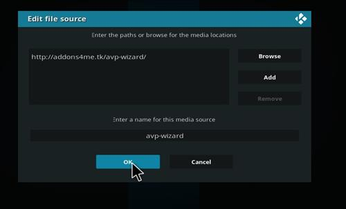 How to Install The Afterlife Kodi 18 Build Leia step 7