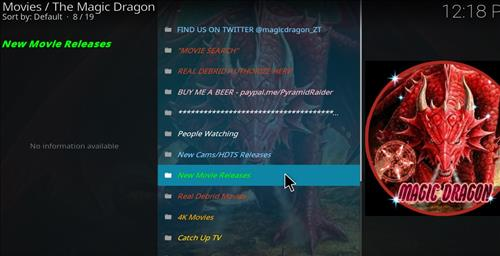How to Install The Magic Dragon Kodi Add-on with Screenshots pic 2