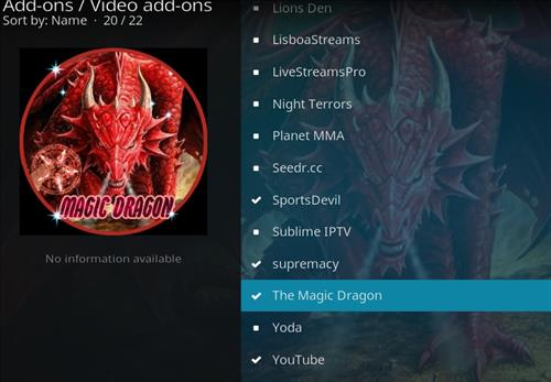 How to Install The Magic Dragon Kodi Add-on with Screenshots step 18