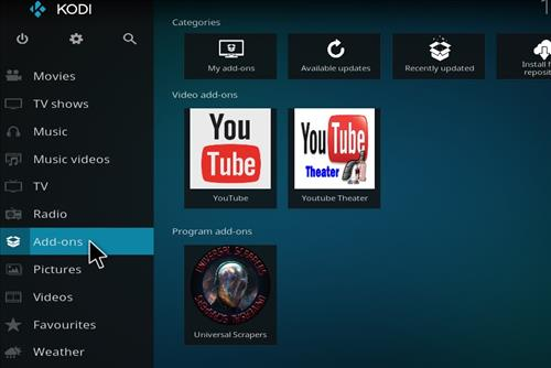 How to Install You Tube Theater Kodi Add-on with Screenshots step 8