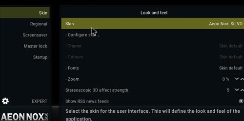How to change the Skin back to Default Estuary leia silvo step 3