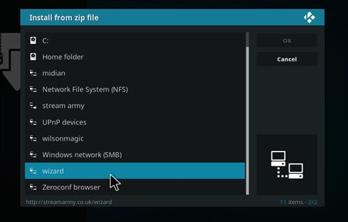 How to Install Blackout Lite Kodi Build with Screenshots step 11