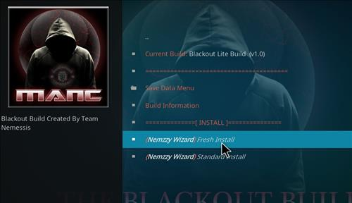 How to Install Blackout Lite Kodi Build with Screenshots step 17