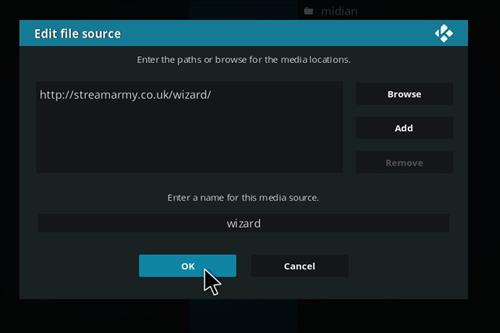 How to Install Blackout Lite Kodi Build with Screenshots step 7