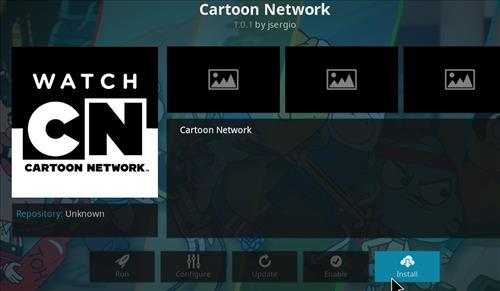 How to Install Cartoon Network Kodi Add-on with Screenshots step 18