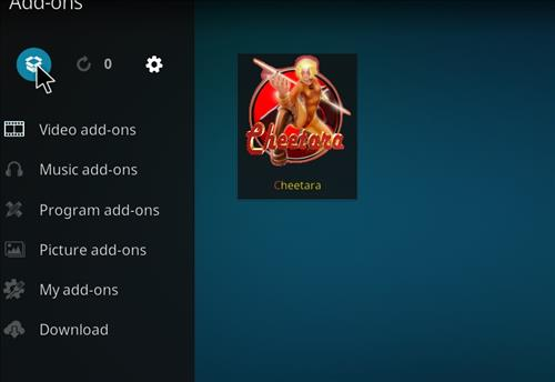 How to Install Cheetara Kodi Add-on with Screenshots step 9