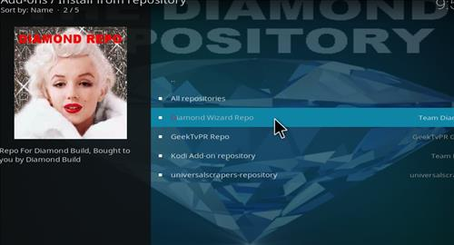 How to Install Diamond Dust Kodi Build with Screenshots step 16