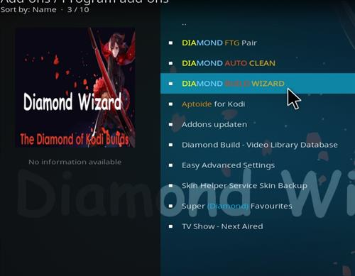 How to Install Diamond Dust Kodi Build with Screenshots step 18