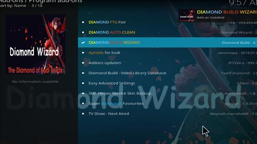 How to Install Diamond Dust Kodi Build with Screenshots step 20