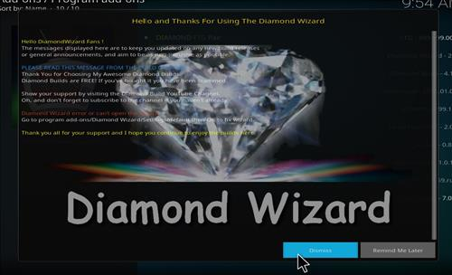 How to Install Diamond Dust Kodi Build with Screenshots step 21