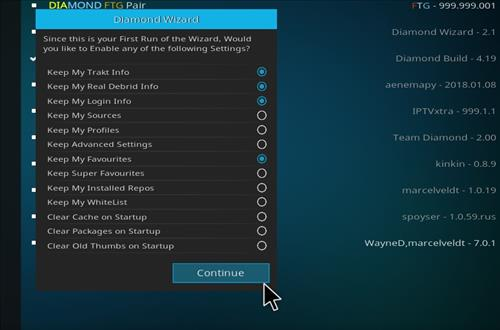 How to Install Diamond Dust Kodi Build with Screenshots step 22