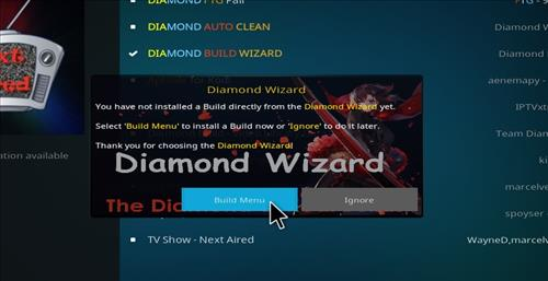 How to Install Diamond Dust Kodi Build with Screenshots step 23