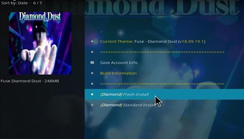 How to Install Diamond Dust Kodi Build with Screenshots step 25
