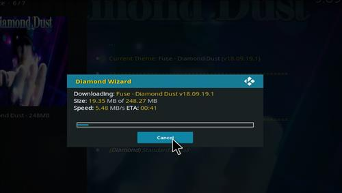 How to Install Diamond Dust Kodi Build with Screenshots step 27