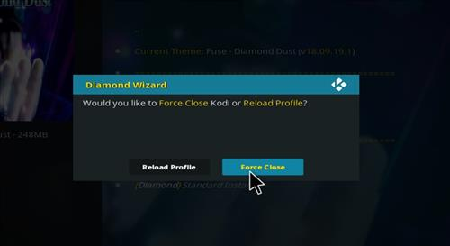 How to Install Diamond Dust Kodi Build with Screenshots step 28