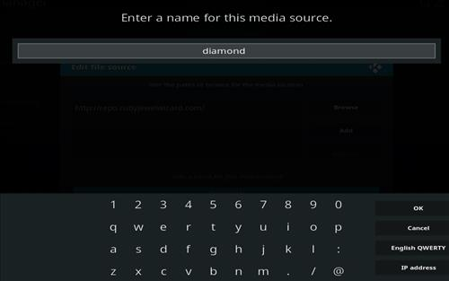 How to Install Diamond Dust Kodi Build with Screenshots step 6