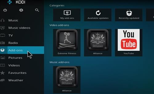 How to Install Diamond Dust Kodi Build with Screenshots step 8