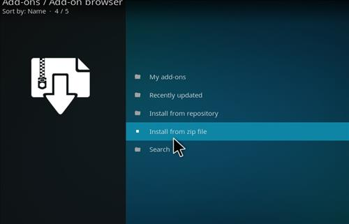 How to Install Epic Kodi Build with Screenshots step 10