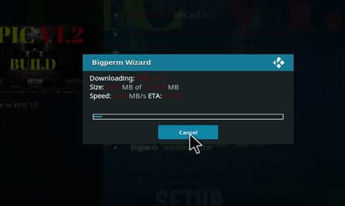 How to Install Epic Kodi Build with Screenshots step 20