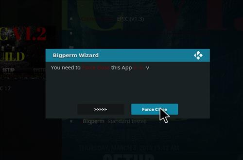 How to Install Epic Kodi Build with Screenshots step 21