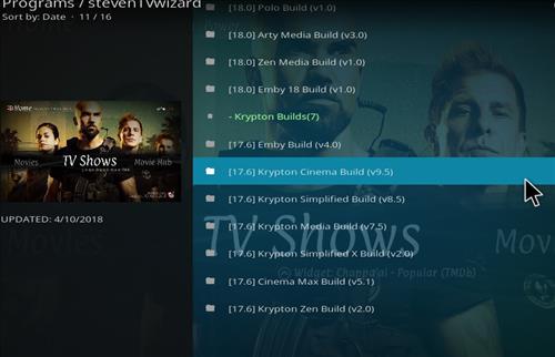 How to Install Krypton Cinema Kodi Build with Screenshots step 16